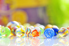 Glass balls Royalty Free Stock Photos