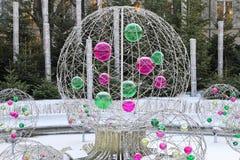 Glass balls Royalty Free Stock Image
