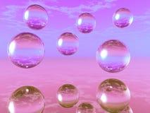 Glass balls Stock Photo