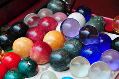 Glass balls Royalty Free Stock Images
