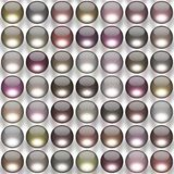 Glass balls generated texture Royalty Free Stock Image