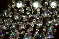 Glass balls hanging Royalty Free Stock Photography