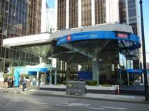 Glass Bank Royalty Free Stock Photo