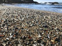 Glass Beach. In Fort Bragg California Stock Photos