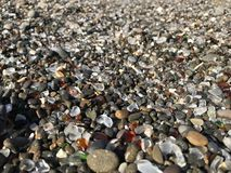 Glass Beach. In Fort Bragg California Stock Images