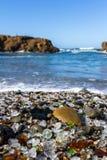 Glass Beach, Fort Bragg, California Stock Image