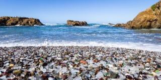 Glass Beach, Fort Bragg, California Stock Photos