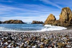 Glass Beach, Fort Bragg California Stock Photography