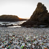 Glass Beach, Fort Bragg, California Royalty Free Stock Photo