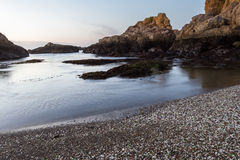 Glass Beach, Fort Bragg, California Royalty Free Stock Photos