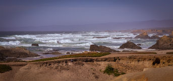Glass Beach Trail photos in Fort Bragg CA Royalty Free Stock Photos