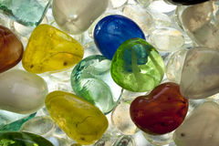 Glass beads Stock Images