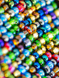 Glass beads background Stock Image