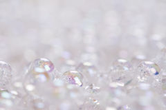 Glass Beads Background Stock Photography