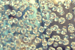 Glass beads background. Glass beads texture background with DOF Royalty Free Stock Image