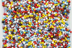 Glass beads Stock Image