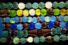 Glass Beads. Close up of Glass Beads Royalty Free Stock Photography