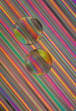 Glass Beads on Straws Stock Photo