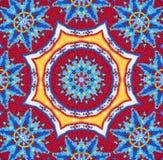 Glass Beadwork Kaleidoscope Image Royalty Free Stock Images