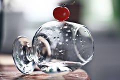 Glass beaker Stock Photography