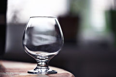 Glass beaker with water concept Royalty Free Stock Photos