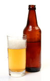 Glass with beer Stock Image