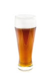Glass with beer Royalty Free Stock Images
