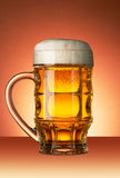 Glass of beer Stock Images