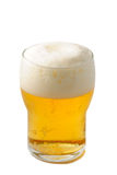 Glass of beer. And white background Stock Image