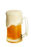 Glass with beer Royalty Free Stock Photo