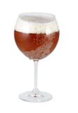 Glass of beer. Cup of beer special served very cold and isolated cropped Stock Images