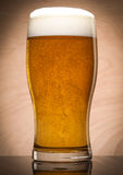 Glass with beer Stock Images