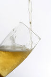 Glass of beer. Drink in movement. Liquid that it Stock Photography