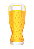 Glass of beer stock illustration