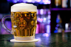 Glass with beer Royalty Free Stock Photos