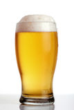 Glass of beer close-up Royalty Free Stock Photos