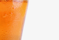 Glass of beer (fragment) Royalty Free Stock Photography