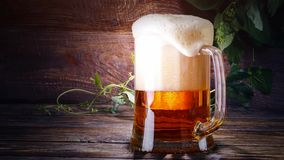 Glass of beer. Full HD - 1920*1080- duration 20 seconds stock video footage