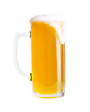 Glass of beer isolated Royalty Free Stock Image