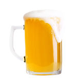 Glass of beer isolated Royalty Free Stock Photos