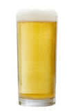 Glass of beer isolated on white background. Stock Photography