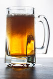 Glass of beer. Isolated on white background Stock Photo