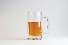 Glass of beer  on white background Stock Image