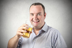 A glass of bier Stock Image