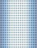 glass blåa prickar Arkivbild