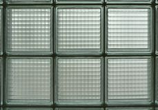 Glass Block. Detail of glass block window stock photo