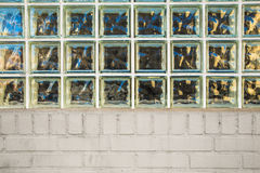 Glass Block And Brick Stock Photography