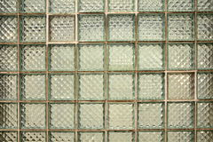 Glass Block Tiles background Royalty Free Stock Images