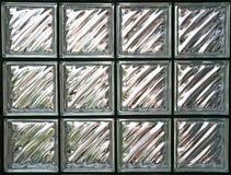Glass Block Wall Stock Photography
