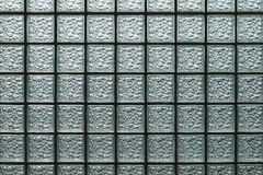 Glass block wall Stock Image